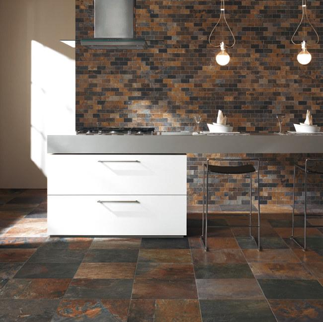 Unicom Starker : Unicom Natural Slate Porcelain Tile Pictures to pin on Pinterest